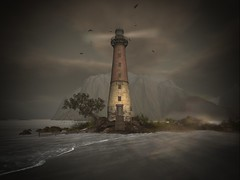 Worlds End (sunshineacid@ymail.com) Tags: nature secondlife beach coastal ocean lighthouse