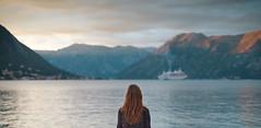 38 - Kotor Bay (annashenphoto) Tags: sea ship ginger redhead wanderlust traveller travelgirl vintage nostalgia adventure
