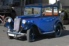"0843  Austin 7/ 1936 Type ACA ""New"" Pearl Cabriolet. (Fotomouse) Tags: fotomouse flickr oldtimer blau blue auto austinseven vermutlich1937 outdoor draussen fahrzeug 1001nights magiccity"