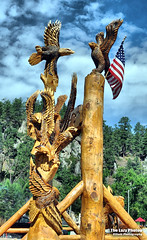 Aug 8 2016 - Chainsaw carvings at Keystone SD (lazy_photog) Tags: lazy photog elliott photography sturgis south dakota black hills motorcycle classic rally races harley davidson iron mountain road 080816sturgisdaythree