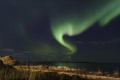 Norurljs yfir sj (geh2012) Tags: sea iceland sland sjr auroraborealis geh norurljs gunnareirkur