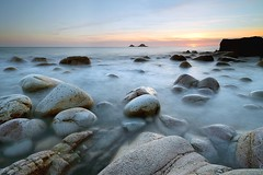 Spring Tide (midlander1231) Tags: sunset sea england colour water coast spring rocks cornwall tide porthnanven coastalphotography wwwtonyarmstrongphotographycouk