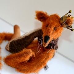 Kingston Rat (mekare_nl) Tags: rat handmade kingston mohair mekare mekarebears
