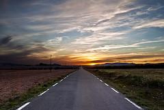 Atardecer (Francisco Esteve Herrero) Tags: road atardecer carretera review anochecer caudete 2013 pacoesteveherrero franciscoesteveherrero