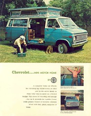 Chevrolet mini motorhome (Dave* Seven One) Tags: camping classic chevrolet vintage 70s rv camper motorhome gmc