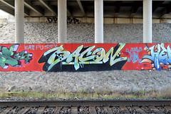 DSC_0443 v2 (collations) Tags: toronto ontario concrete graffiti bacon documentary infrastructure builtenvironment concretedreams establishingshots graffitiinsitu contextshots