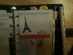 New Filofax! Yay! (Ronnie_Cakes83) Tags: purple pocket stickies filofax tabs malden dividers