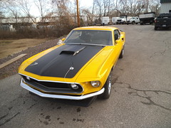 """1969  Ford Mustang Mach 1 • <a style=""""font-size:0.8em;"""" href=""""http://www.flickr.com/photos/85572005@N00/8750466983/"""" target=""""_blank"""">View on Flickr</a>"""