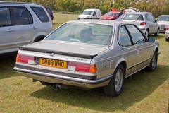 1986 BMW 635 CSi (Trigger's Retro Road Tests!) Tags: show classic car corner little may retro bmw 1986 essex clacton plough csi 635 2013