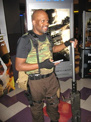 GI Joe Retaliation Roadblock Cosplay (MorpheusBlade) Tags: gijoe goatee gun cosplay military bald roadblock tactical marvinfhinton gijoeretaliation