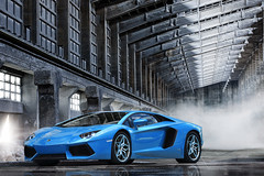 Lamborghini Aventador Diamond (Nike_747) Tags: blue light black color reflection car gold 1 factory shine head smoke 4 7 super headlights bull diamond exotic l series p hyper carbon lamborghini lb supercar mirrow fibre lambo hypercar aventador lp7004 naksphotographydsign diamondseries1