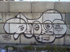Dvote (metal-blood) Tags: graffiti total recall dvote flickrandroidapp:filter=none