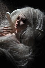 (Melancholy-Dreaming) Tags: wild beautiful doll pretty horns free fantasy blond blonde bjd balljointeddoll mythic souldoll paratiisi soulzenith