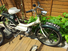 1965 Raleigh Runabout Moped (Trigger's Retro Road Tests!) Tags: raleigh moped runabout 1965