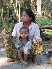 Ratanakiri Lao-Kreung (mbphillips) Tags: cambodia mbphillips canonixus400 together two