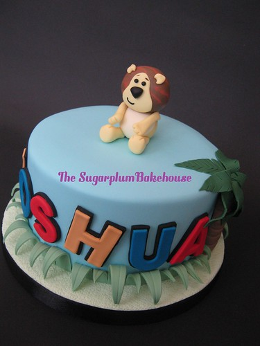 Raa Raa The Noisy Lion Themed Birthday Cake