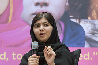 Malala Yousafzai speaks at World Bank headquar...