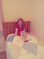 Big girls bed 324/365 201114 (Carmen's Year) Tags: nov pad freya hpad201114