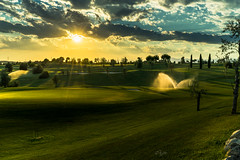 2016 Last light at Golf course (jeho75) Tags: sony ilce 7m2 zeiss italy italien golfplatz golf course sonnenuntergang sunset evening light abend sommer summer san vigilio
