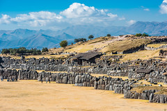(Voyages Lambert) Tags: ancient andes archaeology architecture cuzco famousplace fort history inca landscape mountain nature oldruin people peru sacsayhuaman scenics travel urubambavalley valley prou