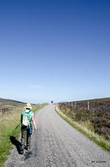 it is a long way (cornucopiae) Tags: greatglen highlands moor