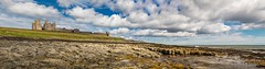 Dunstanburgh Panorama2 (Mark Schofield @ JB Schofield) Tags: nationalpark north northumberland northumbria east england coast dunstanburgh castle tynemouth river tyne tees wear pier landscape canon 5dmk3 beach redcar
