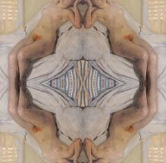 2016-08-19 symmetrical nude paintings 3 (april-mo) Tags: symmetrical symmetry symtrie art painting nu nude portrait womanportrait