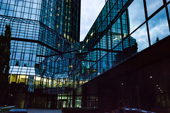 Deutsche Bank Building (betadecay2000) Tags: bank building hochhaus skyscraper frankfurt city hessen germany deutschland deutsche bankgebude glas glass spiegel mirror highrise high rise wolkenkratzer modern architektur hoch main frankfurtammain stahl beton himmel sky