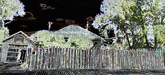 HFF ~ Ski Fence (Karen McQuilkin) Tags: hff~skifence jacksonwyoming friday karenmcquilkin repurposed recycled ski jacksonhole fence reused rrr reloved wow