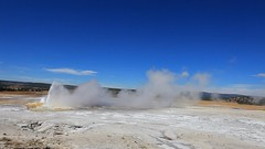 Guyser Action, Yellowstone Park, Wyoming, USA (GOD WEISFLOK) Tags: montana wyoming usa yellowstonepark gordweisflock weisflock