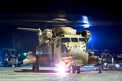 Night shift with the Night Leaders, begins... now! (xnir) Tags: night nir nirbenyosef xnir aviation sikorsky ch53 helicopter