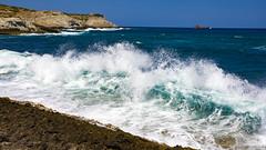 Olas rompiendo (rodrigomezs) Tags: mallorca cala playa mar mediterraneo azul turquesa escapada vacaciones best mejor verano