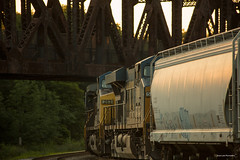 Evening Shade (Jason Lowe Photography) Tags: train trains tracks transportation railroad railfan railway railfanning csx diesel freight sandpatch keystone viaduct westbound