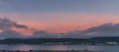 Sunset, red sky (Per Ivar Somby) Tags: solnedgang sunset troms sensommer latesummer