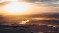 Reprise (John Westrock) Tags: garfield washington steptoebutte landscape nature sunset dust sun sky pacificnorthwest canoneos5dmarkiii palouse canonef100400mmf4556lisusm longexposure bwnd1000x johnwestrock