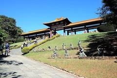 """Entrada principal (José Argemiro) Tags: faith monastery religion buddhist temple monk religião fé templo monastério monge """"zu lai"""" """"são paulo"""" cotia brazil budismo budista entrada"""