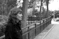 arandinos/Mnica (pepe amestoy) Tags: blackandwhite streetphotography people portrait aranda burgos spain fujifilm xe1 carl zeiss t planar 250 zm leica mount