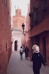 *** (Jean24S) Tags: maroc marrakech rue mosque verticale voyage fujifilm