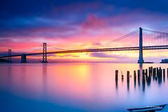 Sunrise - San Francisco bay (davidyuweb) Tags: sunrise san francisco bay sfist luckysnapshot long exposure longexposure