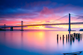 Sunrise - San Francisco bay