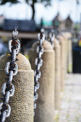 City chains (Maria Eklind) Tags: dof rost macro malm closeup kedja sweden chain outdoor concrete city rust depthoffield skneln sverige se