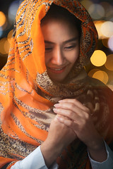 Muslim woman (Krunja) Tags: adult asian attractive beautiful beauty cellular chinese conversation culture cute face female filipino girl hijab islam islamic lady lifestyle lovely malay malaysian muslim muslimah portrait prayer pretty religion religious scarf smile success thai traditional woman young