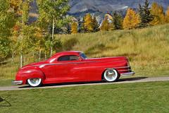 1948 Chrysler Coupe (skyhawkpc) Tags: 2016 telluride colorado co allrightsreserved garyverver carsandcolors 1949 chrysler coupe concoursonthegolfcourse mountainvillage 1948