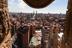 Barcelona (Roger Hanuk) Tags: art artnouveau barcelona cathedral gaudi religiousbuilding sagradafamlia spain street catalonia