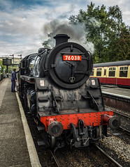 76038 at Grosmont (Dave2638) Tags: steamgala2016 nymr steamgala eskvalley