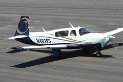 Khavarian Enterprises INC                                       Mooney M20                            N493PS (Flame1958) Tags: khavarianenterprisesinc khavarian mooneym20 n493ps m20 mooneyaircraft dvt kdvt 120816 0816 2016 deervalley deervalleyairport