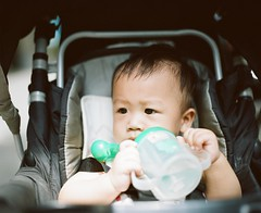 A-Deng, 1 year and 1 month (C.Kunta) Tags: iso80 6x7 120  kodakppn160 pentax67ii slr ad child boy