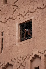The Walls Have Eyes (David K. Edwards) Tags: camera focus bofeofus wall adobe stucco ouarzazate sayitouarzazate morocco maroc