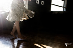 Dancing is like dreaming with your feet (JSTAR377) Tags: dance dancer child girl feet dress flow lighting contrast