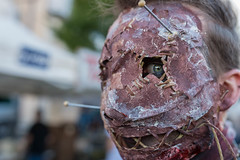 Behind the mask (pascal_degiovanni) Tags: croixrousse zombiewalk lyon